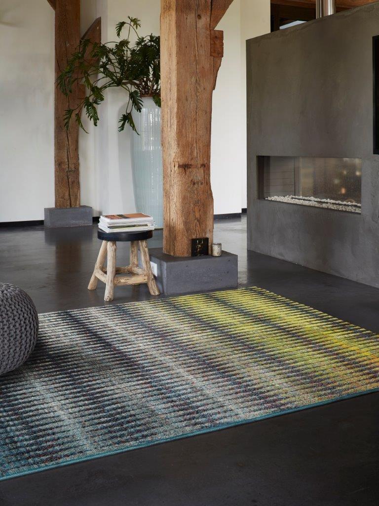 Esprit Teppich (120 x 170 cm) Ocean View strapazierfähig, seitlich eingefasst