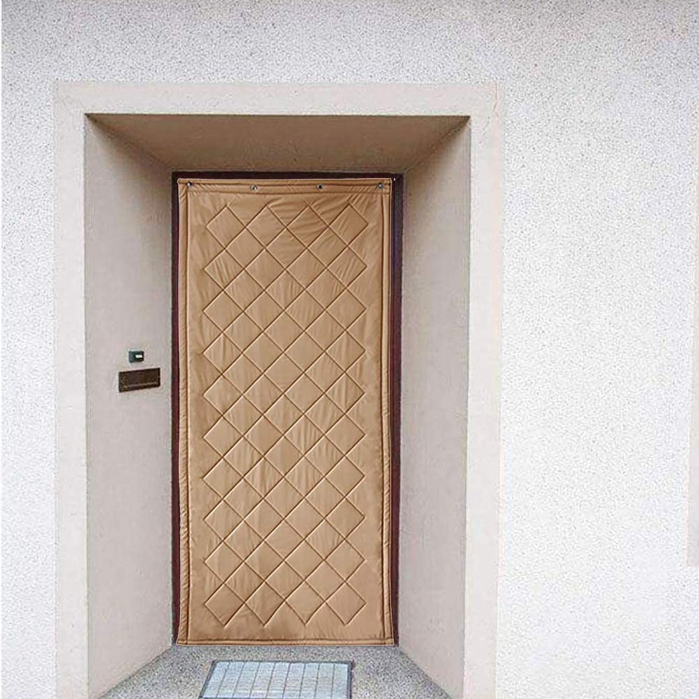 Cortina de Puerta Protección Térmica Cortina de Puerta Interior Aislamiento Cálido Bloque Frio Ingreso Puerta Principal Invernadero Granero Utilizar (Color : A, Size : 90x240cm): Amazon.es: Hogar