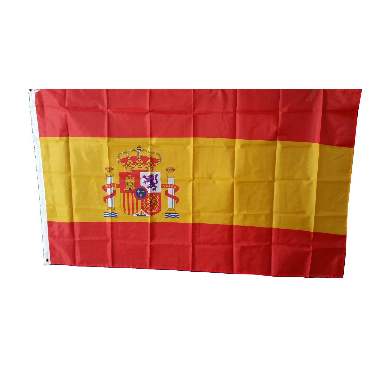 Bandera de España - 150 x 90 Centimetros / Para Uso en Interiores ...