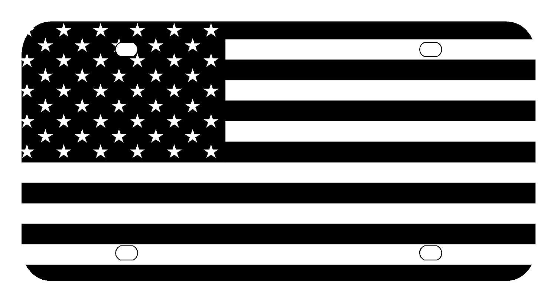 Amazon.com : L148 AMERICAN FLAG License Plate Front Custom Novelty ... for Lamb Of God Pure American Metal Flag  588gtk