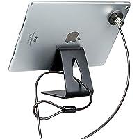 CTA - Kit de Seguridad para Tablet Digital con Soporte para visualización y Cable antirrobo