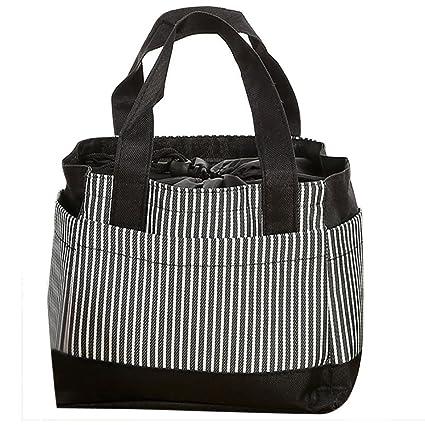 7be2738443de Amazon.com  Koolee Insulated Lunch Bag Reusable Sling Shoulder Lunch ...