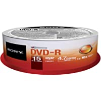 Sony DVD-R (15 pk Spindle)