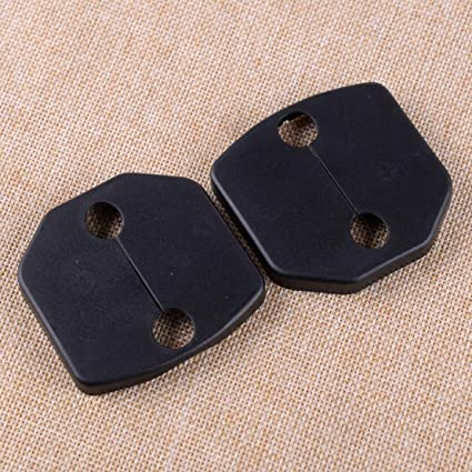2015-2019 For Ford Mustang Plastic Door Lock Buckle Decorative Cover trim 2pcs