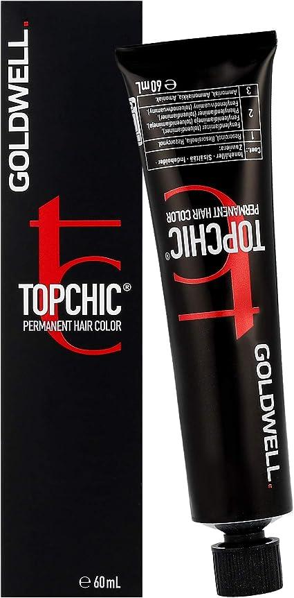Goldwell Topchic 7KR Tinte Para Cabello, 1 unidad (1 x 60 ml)