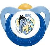 德国NUK安抚奶嘴 迪士尼 小熊维尼 乳胶1号 (颜色随机)(适用0-6个月)
