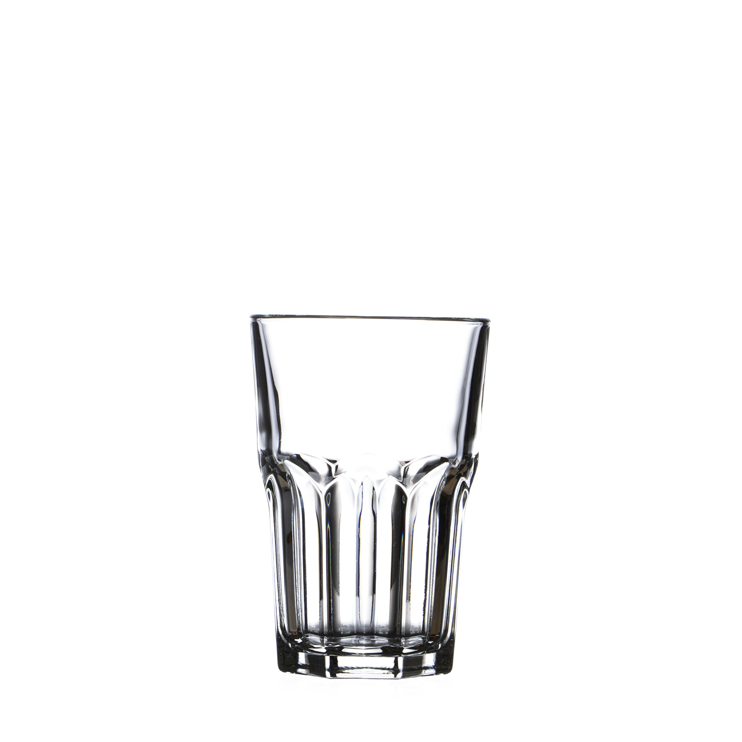 GRANITY Water/Beverage HIGHBALL Glasses Set, ARCOROC, 12 Oz (6)