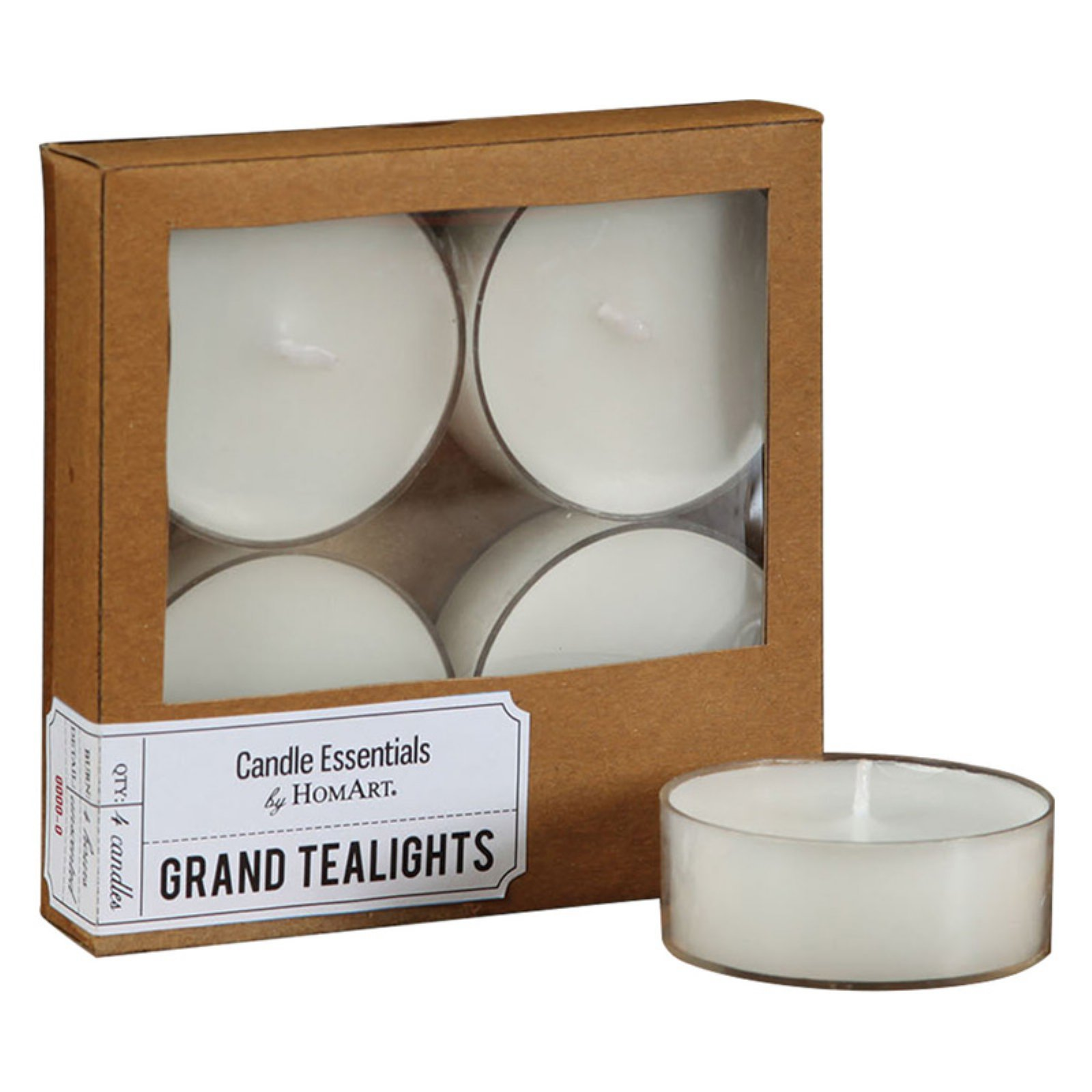 OKSLO Grand Tealights - Set of 4