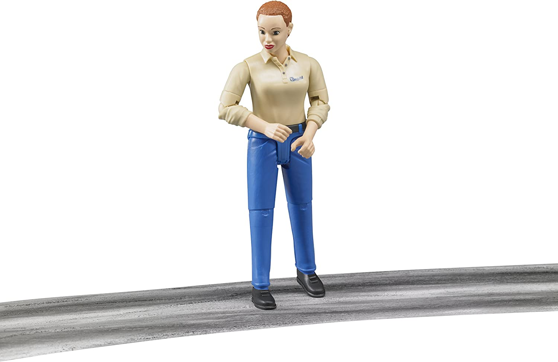 Figurine Femme chatain 60408 BRUDER