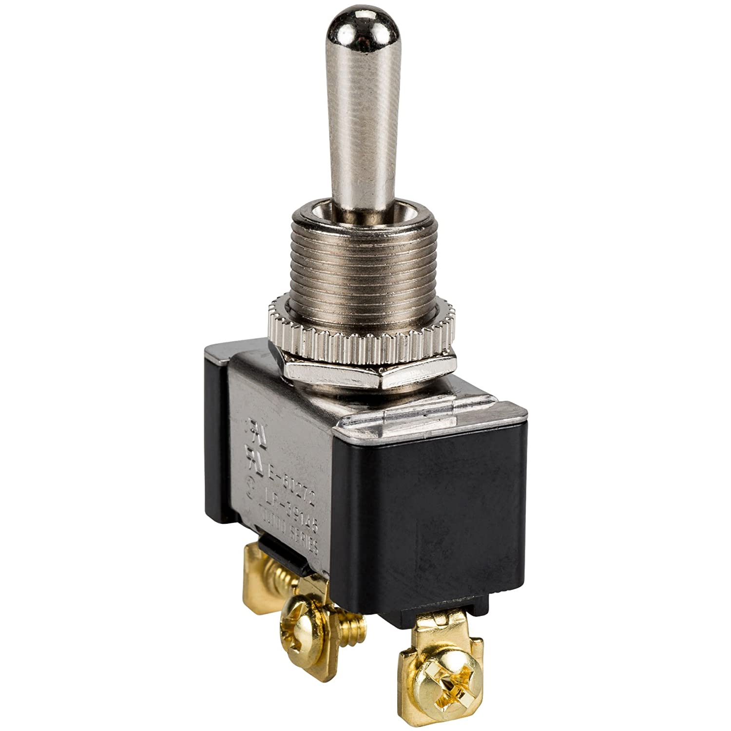 Parts Express SPDT Heavy Duty Toggle Switch Center Off Momentary