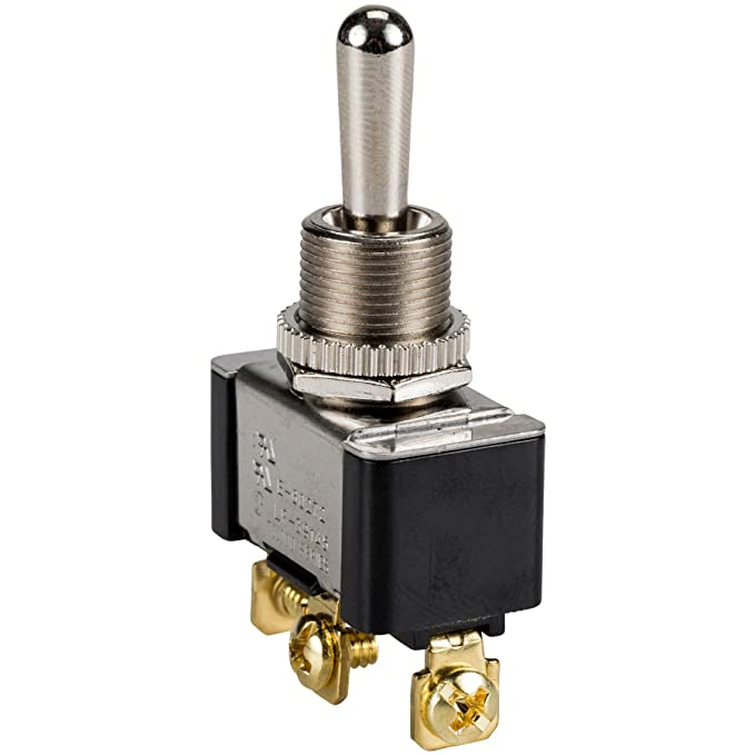 Amazon.com: SPDT Heavy Duty Toggle Switch Center Off Momentary ...