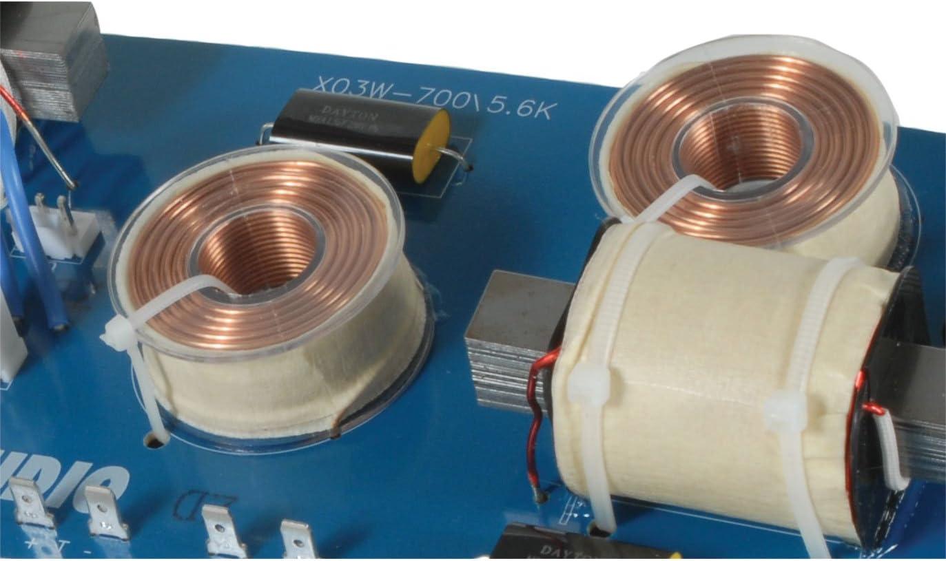 Dayton Audio XO3W-625//5K 3-Way Speaker Crossover 625//5,000 Hz