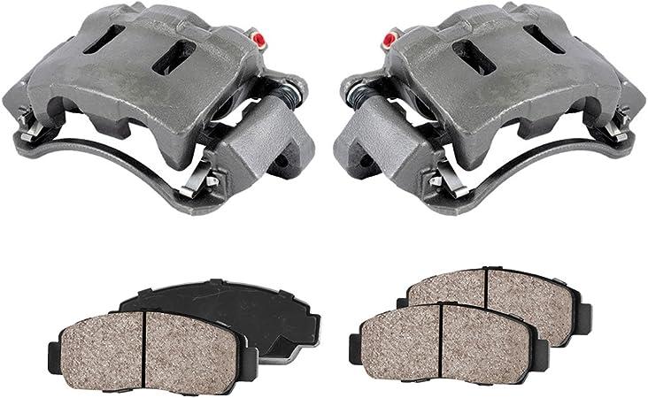 4 Ceramic Brake Pads Kit Premium Grade Loaded OE Calipers Callahan CCK01342 FRONT REAR