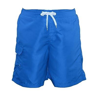 24e0a742b6 Adoretex Women's Plus Size Solid Board Shorts Swimsuit - FB007P - Aqua - 5X