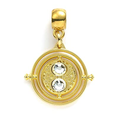 Harry Potter Slider Charm Time Turner (gold plated) Carat Shop Pendenti Collane: Toys & Games