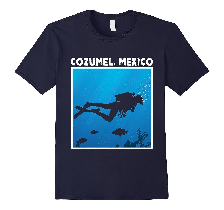 Cozumel Mexico Scuba Diving Tee Shirt-TH