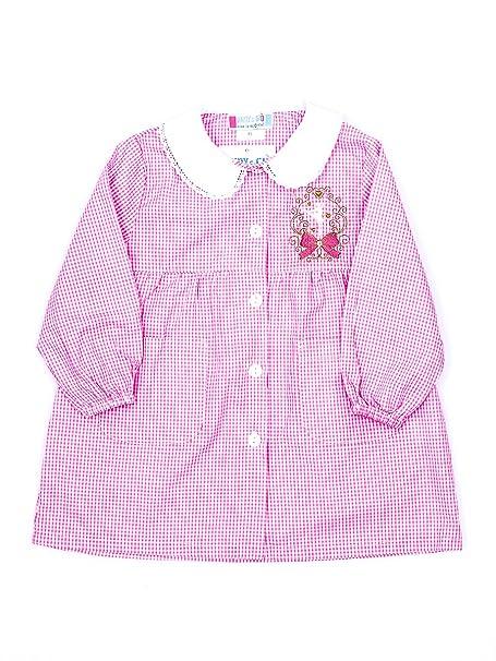 e4940832d5 Andy&Giò Grembiule asilo bambina 90069 grembiule quadri rosa (Quadri rosa,  2 anni): Amazon.it: Abbigliamento