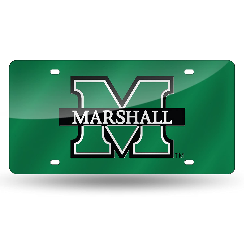 NCAA Marshall Thundering Herd Laser Inlaid Metal License Plate Tag