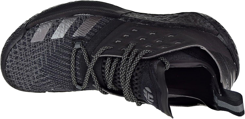 adidas Harden Vol. 2 Shoe Men's Basketball Black Core Black Grey Iron Metallic
