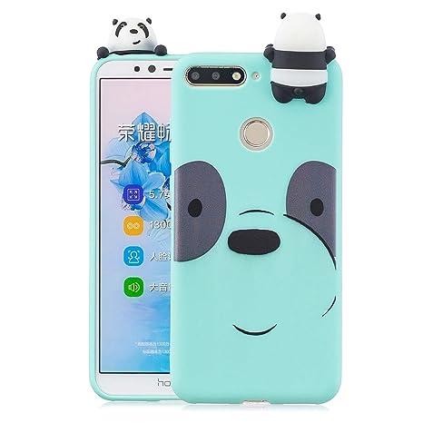 KANTAS Funda Huawei Y7 2018, Carcasa de Silicona Cover Soft ...