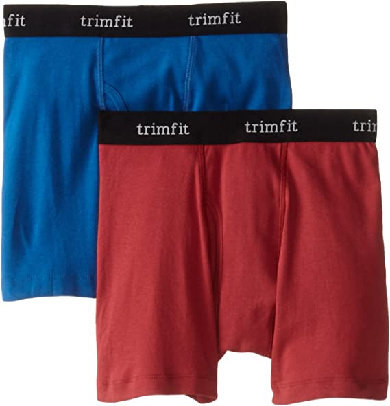 Trimfit Little Boys Tagless 100 Percent Combed Cotton Briefs Pack of 3
