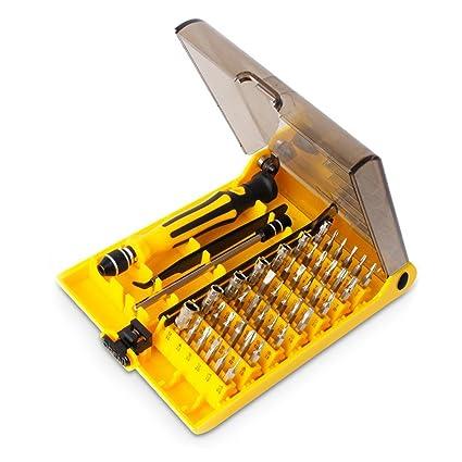 Destornillador de Precisión, Netspower 45 In 1 Professional Portátil ...