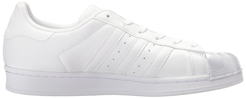 adidas Originals Women's Superstar Glossy Toe Fashion Sneakers B01HJ2185M 7.5 M US White/White/Black