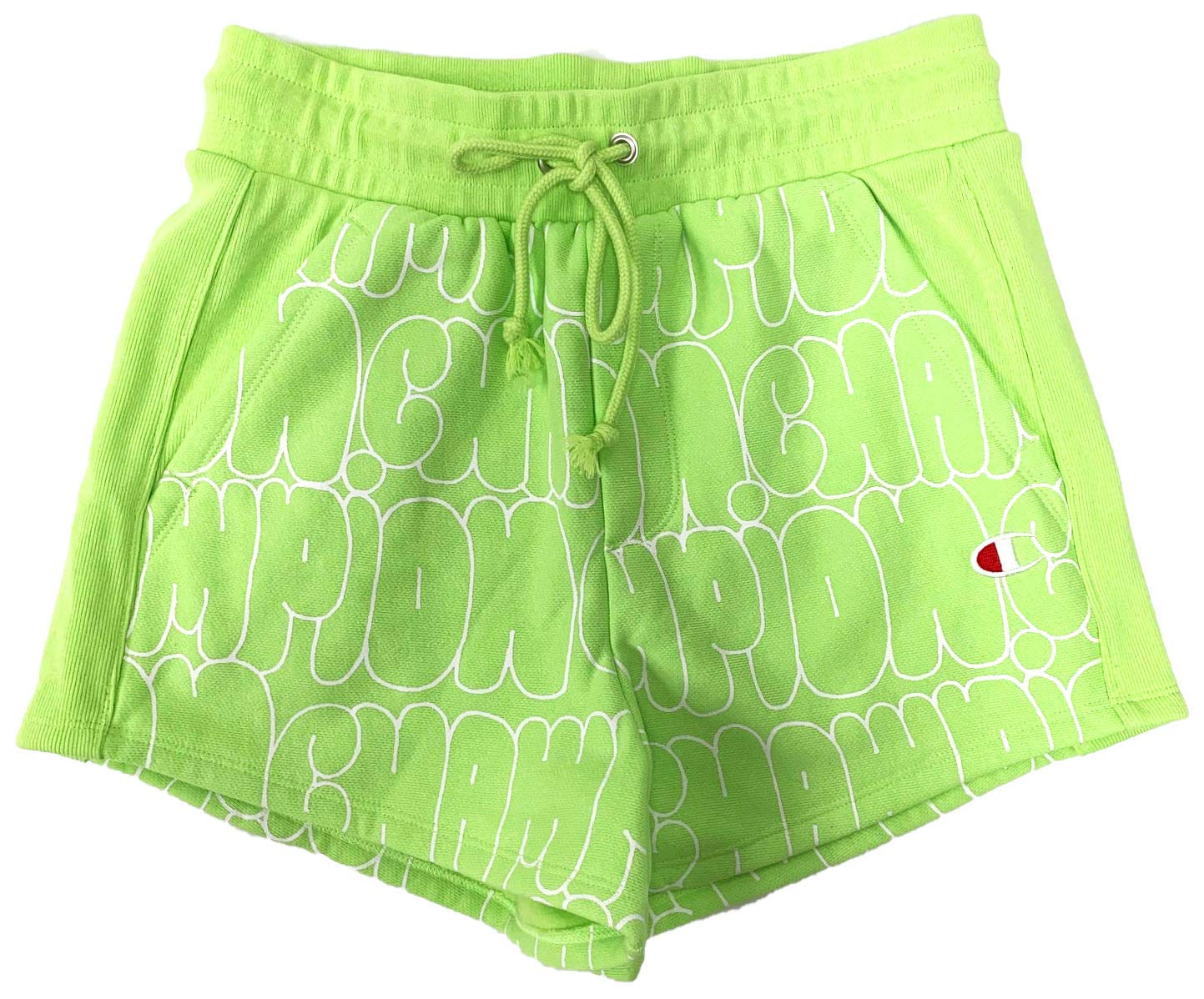 Champion LIFE Women's Reverse Weave¿ Shorts Bubble Script Mint X-Large 3 by Champion LIFE