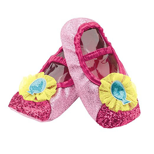 Disguise Pinkie Pie Slippers Costume, One Size Child