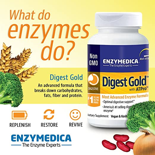 Enzymedica Digest Gold 21 Capsules