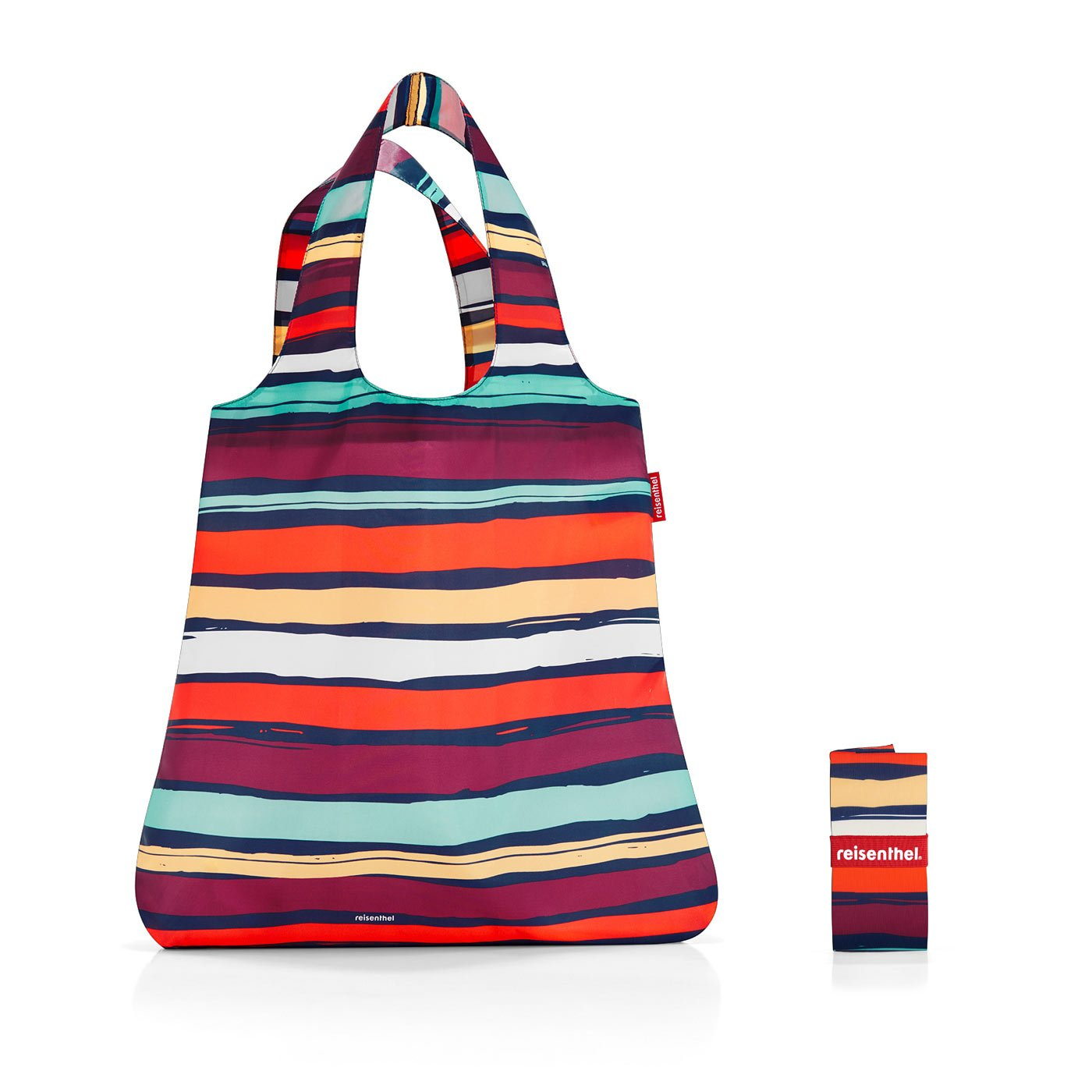 (Artist Stripe, 43.12 x 60 x 7cm (L x W x H))Reisenthel Mini Maxi Shopper Artist Stripes B01MZE7OKC