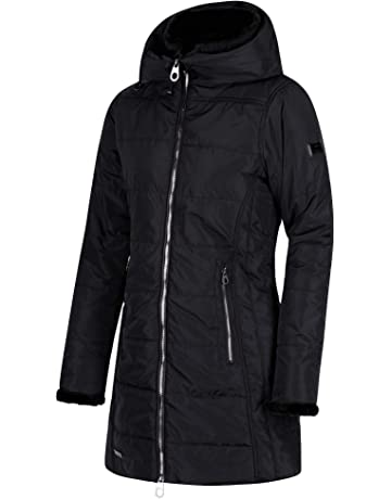 f96f32eadff Regatta Women s Pernella Water Repellent Insulated and Lined Zip-down Hooded  Jacket