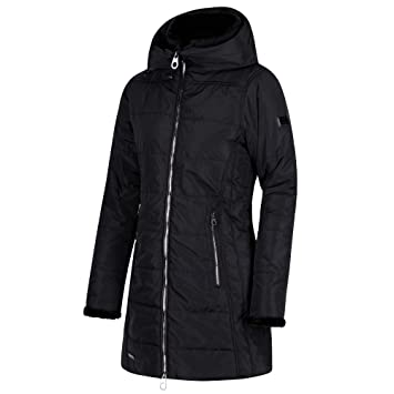 Regatta Women s Pernella Water Repellent Insulated And Lined Zip-Down Hooded  Jacket 4db92b99d734