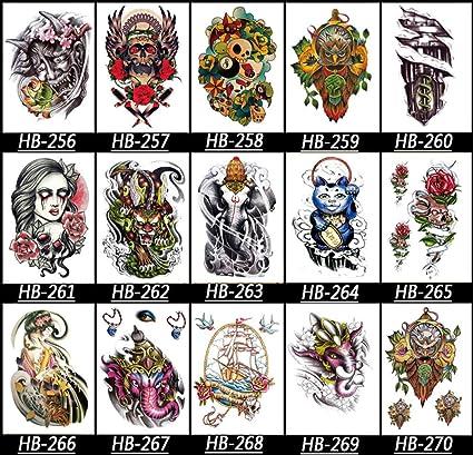 KAMRL Tatuaje Falso Tatuaje Tatuaje Temporal Tribal Maori ...