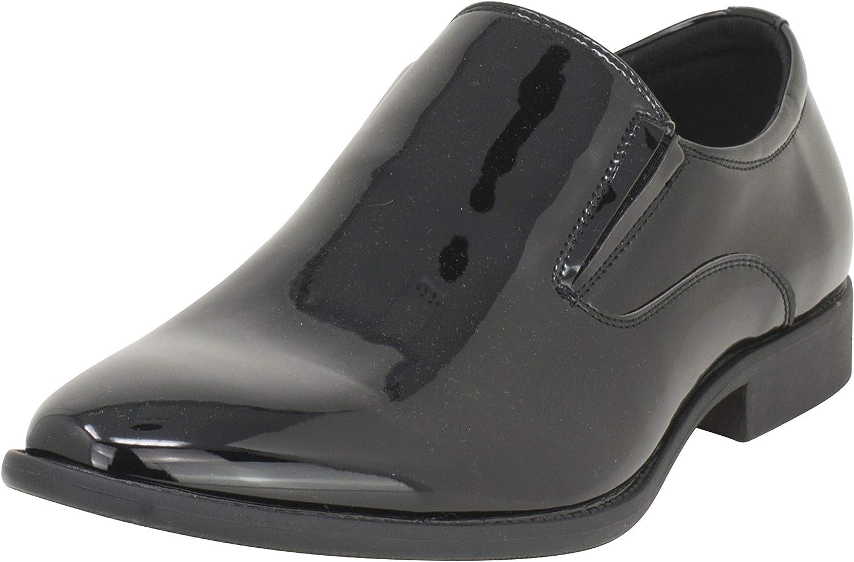 TALLA 42 EU. Smokies Hombres Zapato de Novia Charlie sintético (EU,)