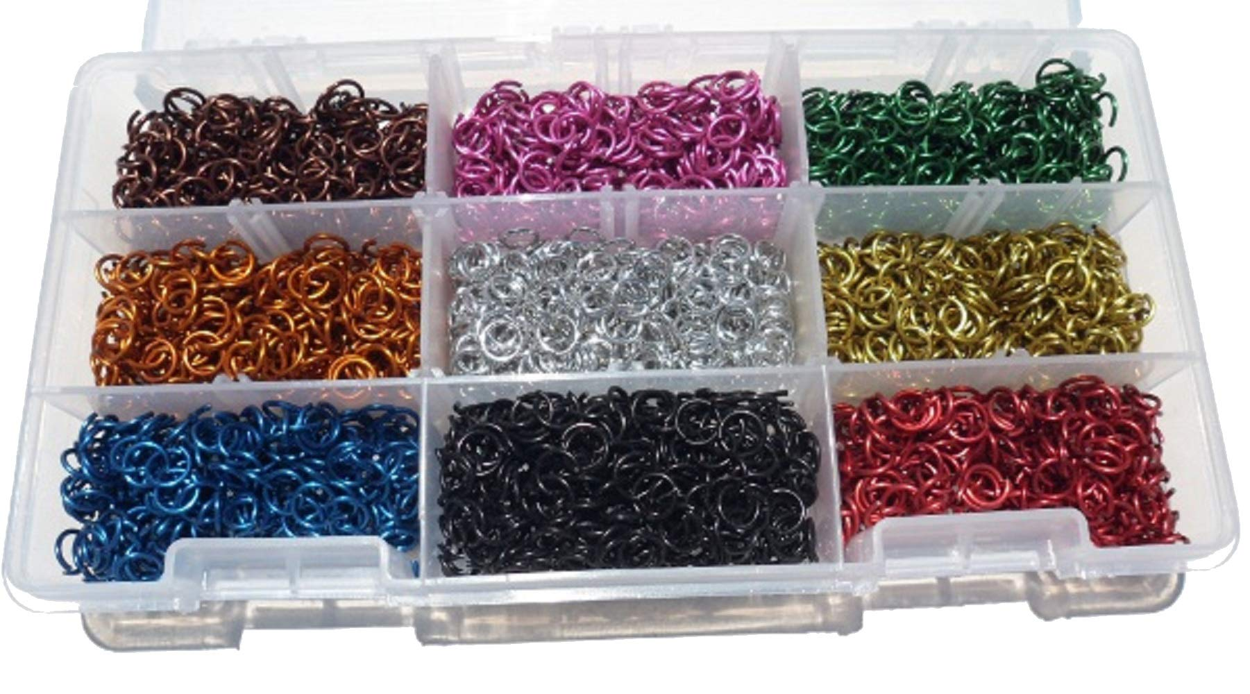 Jeweler Starter Kit Jump Rings Anodized Aluminum 5/32 18g American Chainmail by American Chain Mail