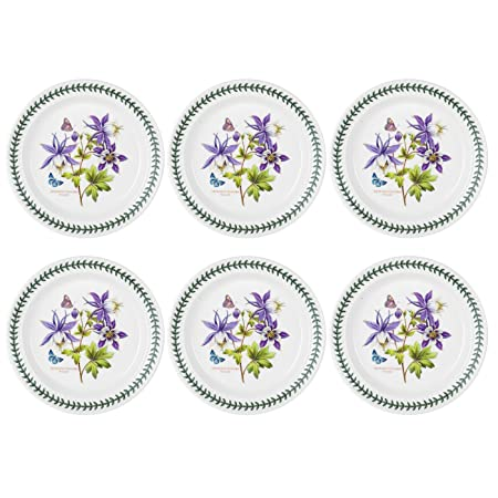 NEW Portmeirion Sophie Conran Coupe Plate Set 4pce
