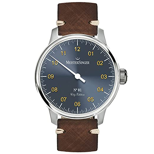 Meistersinger City Edition 2017 Reloj de Hombre Manual 40mm Jerusalem: Amazon.es: Relojes