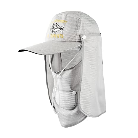 96759a8e5c8 Flap Neck Hat UV Protection Fishing Hat Face Hat Sun Caps with Neck and Face  Flap
