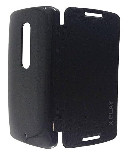 best website 7579c 9c9d1 Flip Cover For Motorola Moto X Play