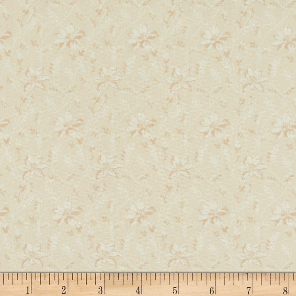 Andover Sonoma Buds and Vines Lily Fabric Fabric by the Yard