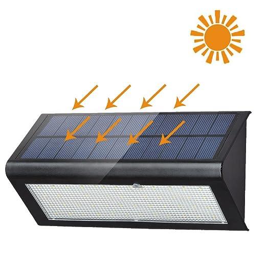6 opinioni per XYTMY Luce Solare di 48 LED, Lampada Wireless ad Energia Solare da Esterno