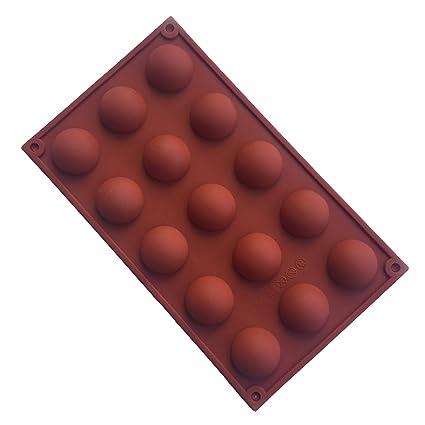 MKNzone 1 moldes de Silicona DIY, Tartas, Chocolate ...