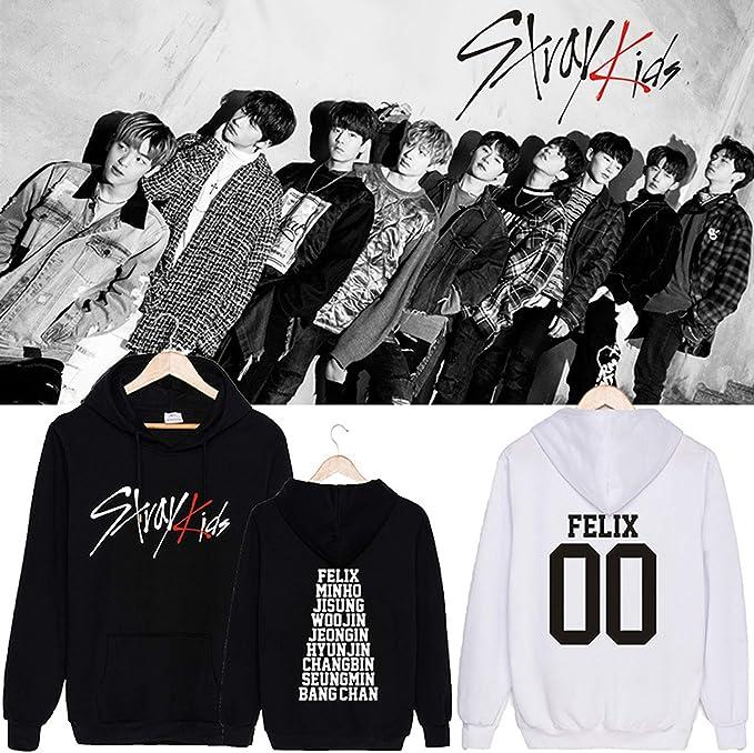 CHAIRAY Kpop Stray Kids Same Hoodie Seungmin Woojin HyunJin Sweatershirt