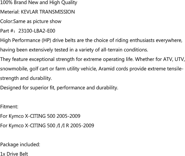 Areyourshop 23100-LBA2-E00 Correa de transmisi/ón para Kym-co X-CITING 500 I//IR 2005-2009