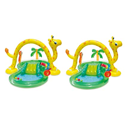 Amazon.com: Summer Waves Inflable Jungle Animal Kiddie ...