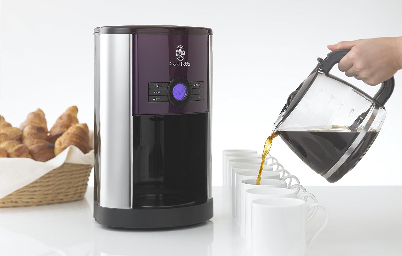 ラッセルホブスのコーヒーメーカーとサーバー