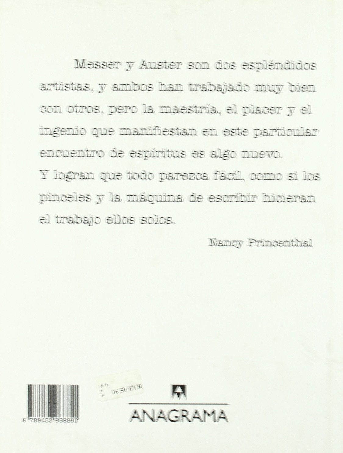 La Historia de Mi Maquina de Escribir (Spanish Edition): Paul Auster, Sam Messer: 9788433968890: Amazon.com: Books