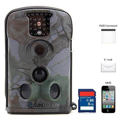 """SUNLUXY® Cámara de Caza Ltl 5210M 12MP HD Pantalla LCD de 2,4"""""""