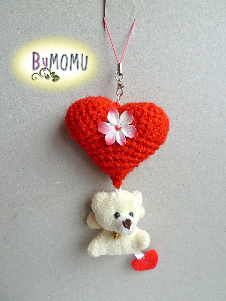 Ravelry: Amigurumi Heart pattern by HappyAmigurumi | 1200x900